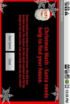 Christmas Math Free poster