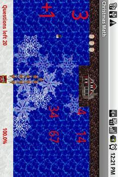 Christmas Math Free apk screenshot