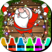 Christmas Coloring Book Game icon