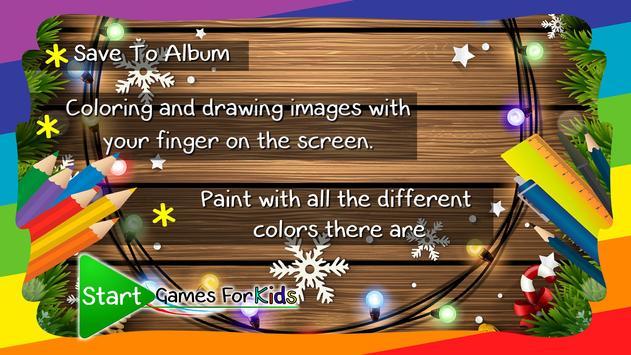 Christmas Coloring Book Game screenshot 3