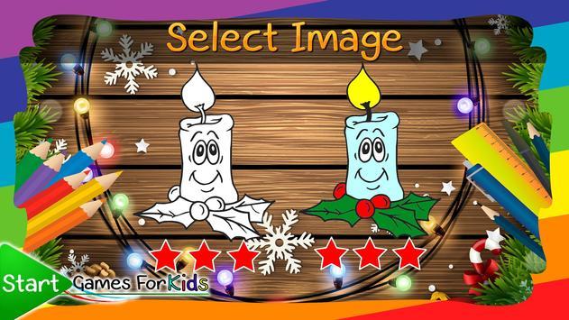Christmas Coloring Book Game screenshot 12
