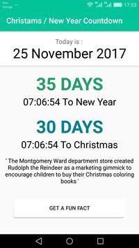 Christmas / New Year Countdown 2017 screenshot 1
