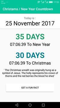Christmas / New Year Countdown 2017 screenshot 2