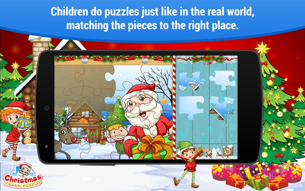 Juegos de Navidad Puzzle niños Descarga APK - Gratis Educativos ...