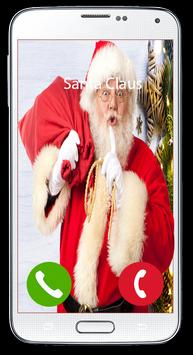 Program your Santa Claus calls for christmas poster