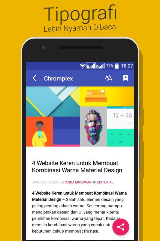 Chromplex : Tren Teknologi Google di Indonesia APK Baixar