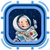 Cannon Hero:Space Escape icon
