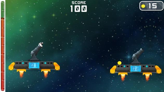 Cannon Hero:Space Escape apk screenshot