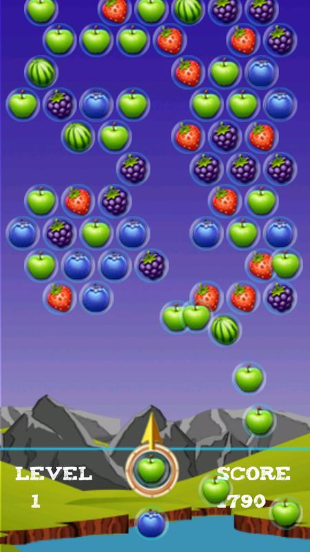 bubble shooter fruit casino apk