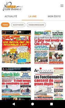 Presse Côte d'Ivoire screenshot 4