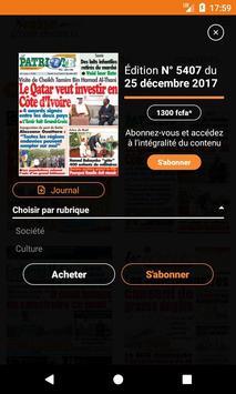 Presse Côte d'Ivoire screenshot 5