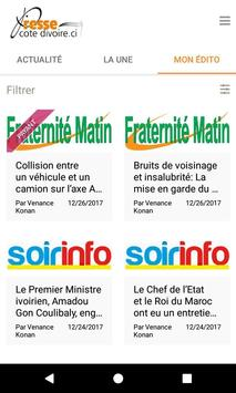 Presse Côte d'Ivoire screenshot 6