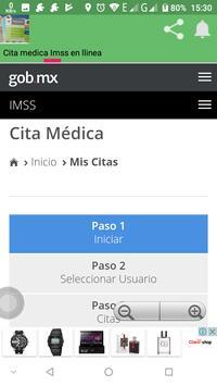 Cita Medica Imss en linea screenshot 2