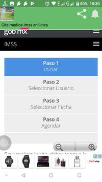 Cita Medica Imss en linea screenshot 7