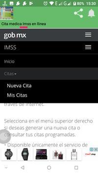 Cita Medica Imss en linea screenshot 4