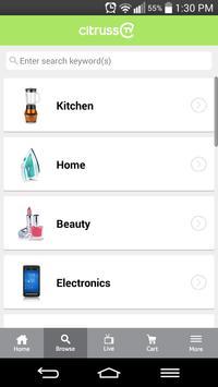 citrussTV shopping apk screenshot