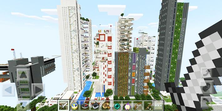 City Of NXUS Map For Minecraft For Android