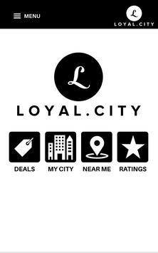 Loyal.City Mobile Loyalty App poster