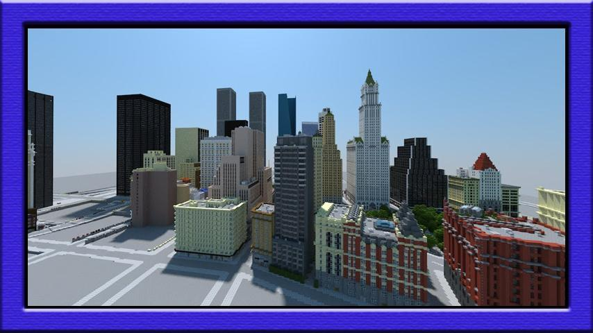 Big city maps for minecraft pe for Android - APK Download
