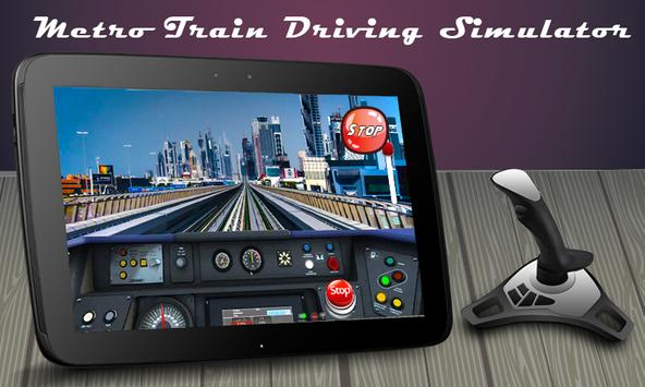 Metro train driving simulator apk screenshot