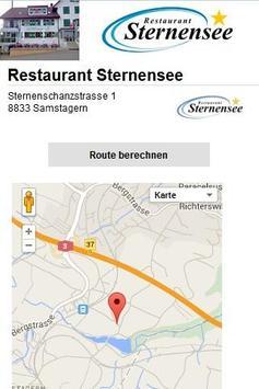 Restaurant Sternensee apk screenshot