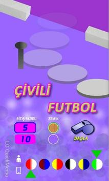 Çivili Futbol poster
