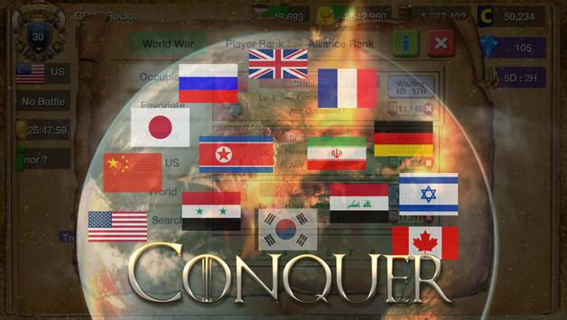 Conflict of Nations : Rise Wars apk screenshot