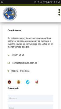CIAVEC screenshot 2