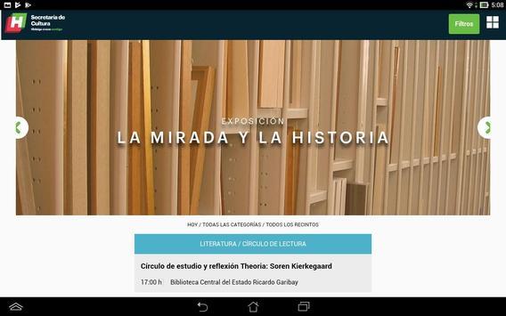 Cartelera Cultural de Hidalgo apk screenshot