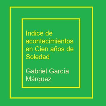 Indice Cien Años de Soledad poster