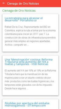 Noticias de Ciénaga de Oro apk screenshot