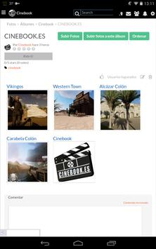 Cinebook - Consigue trabajo en cine apk screenshot