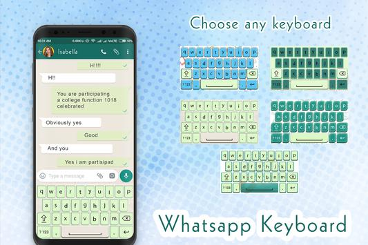 Keyboard theme for Whatsaapp- Design for Whatsaapp screenshot 6