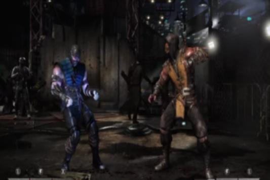 Hint Mortal Kombat X Fight poster