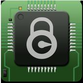 circuit chip locker theme icon