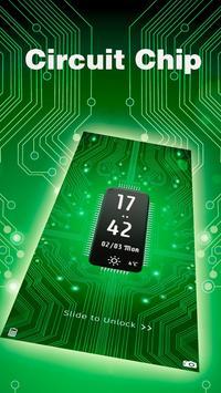 circuit chip locker theme poster