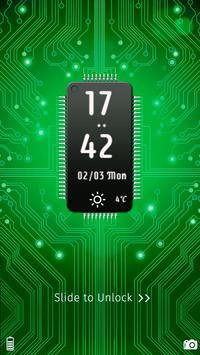 circuit chip locker theme apk screenshot