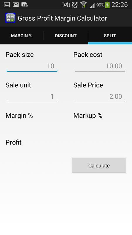 how to work out your profit margin