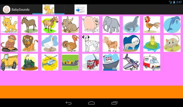 Baby Sounds apk screenshot