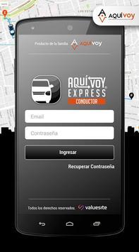 Aquí Voy Express Conductores apk screenshot