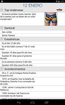 Calendario Top apk screenshot