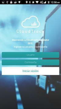 Cloudtrack Simulator GPS poster