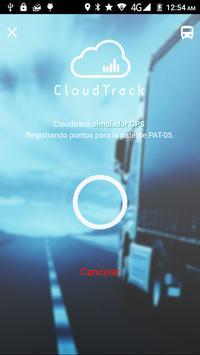 Cloudtrack Simulator GPS screenshot 1