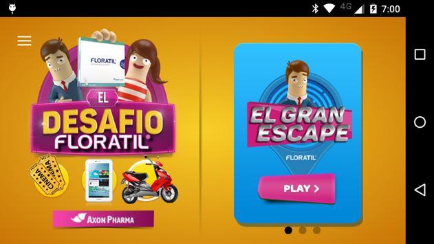 El Desafío Floratil poster