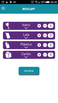 Reciclapp apk screenshot