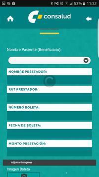 Reembolso Móvil screenshot 3