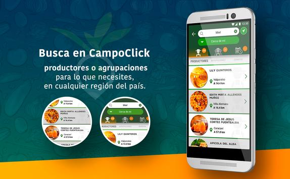 CampoClick apk screenshot