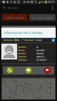 MyTaxi Usuario - Chile screenshot 2