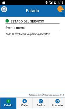 Metro Valparaíso poster