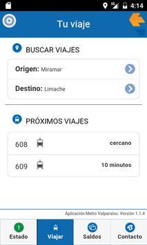 Metro Valparaíso screenshot 2